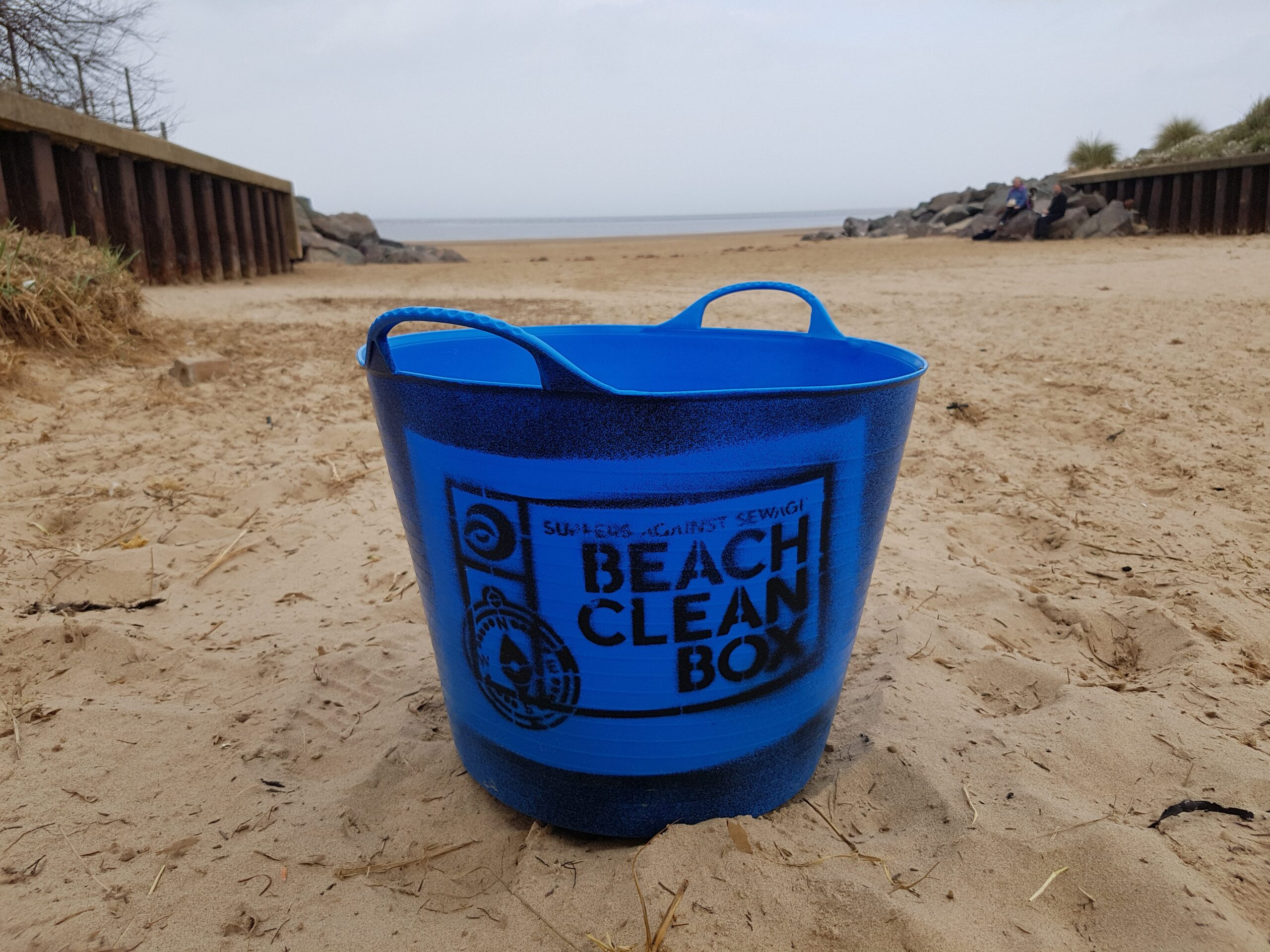 Beach Clean with Surfers Against Sewage at Brancaster