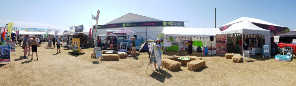 Mini Deepdale at the Royal Norfolk Show