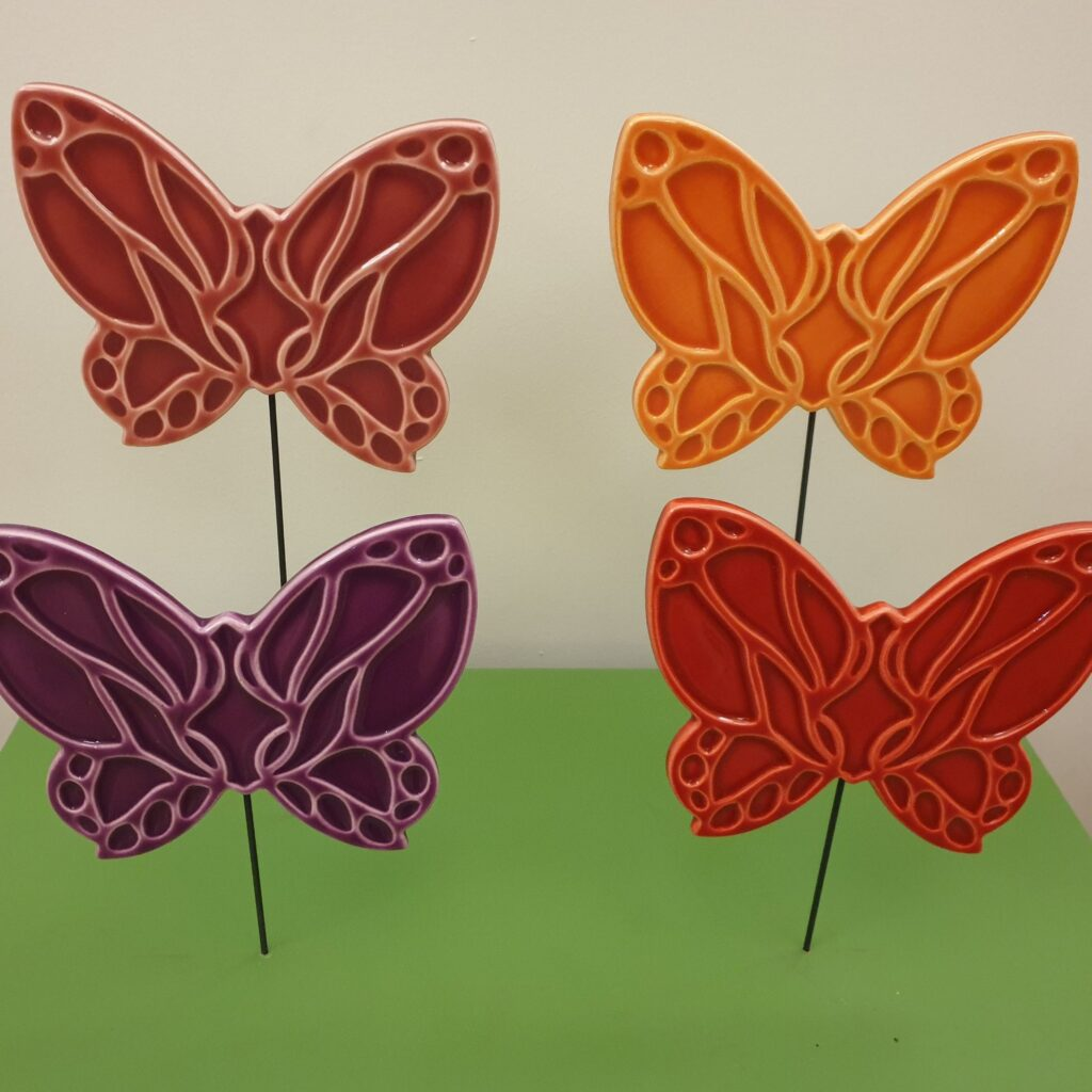 Benjamin Foundation butterflies for the Flight for Youth 25th anniversary celebrations