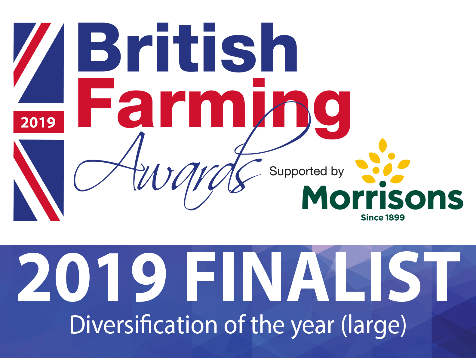 Deepdale Farm has been nominated for a British Farming Award - Diversification Innovator of the Year (large) Award