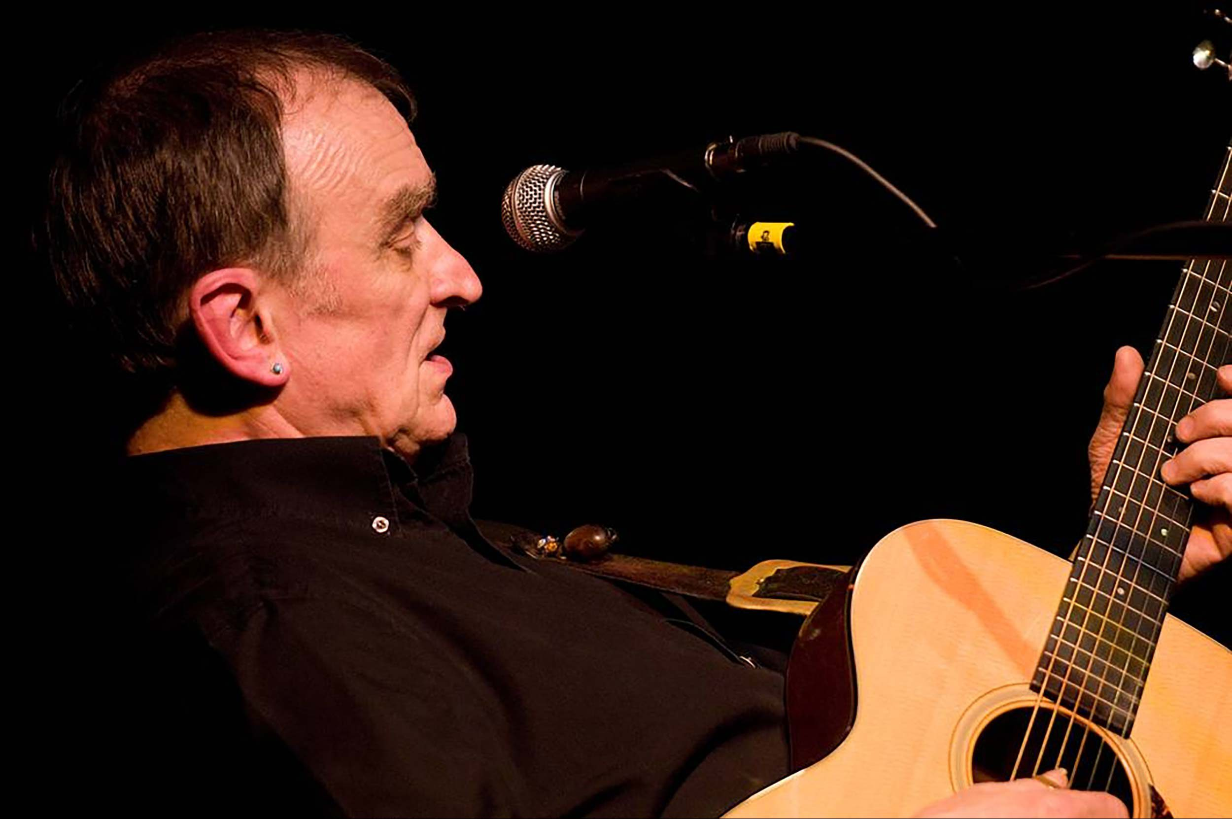 Martin Carthy at Deepdale Festival 2019