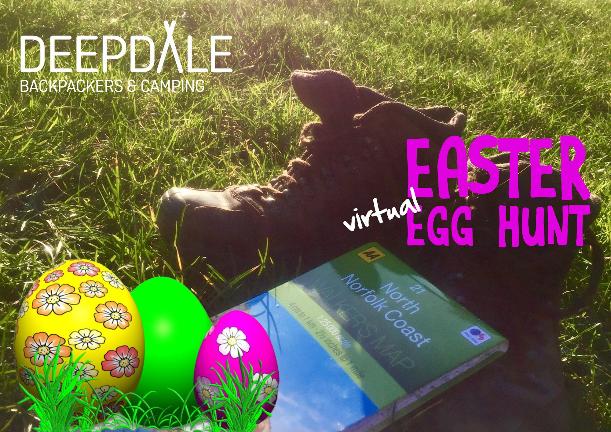 Things to do while you can't visit Deepdale #8: Virtual Easter Egg Hunt