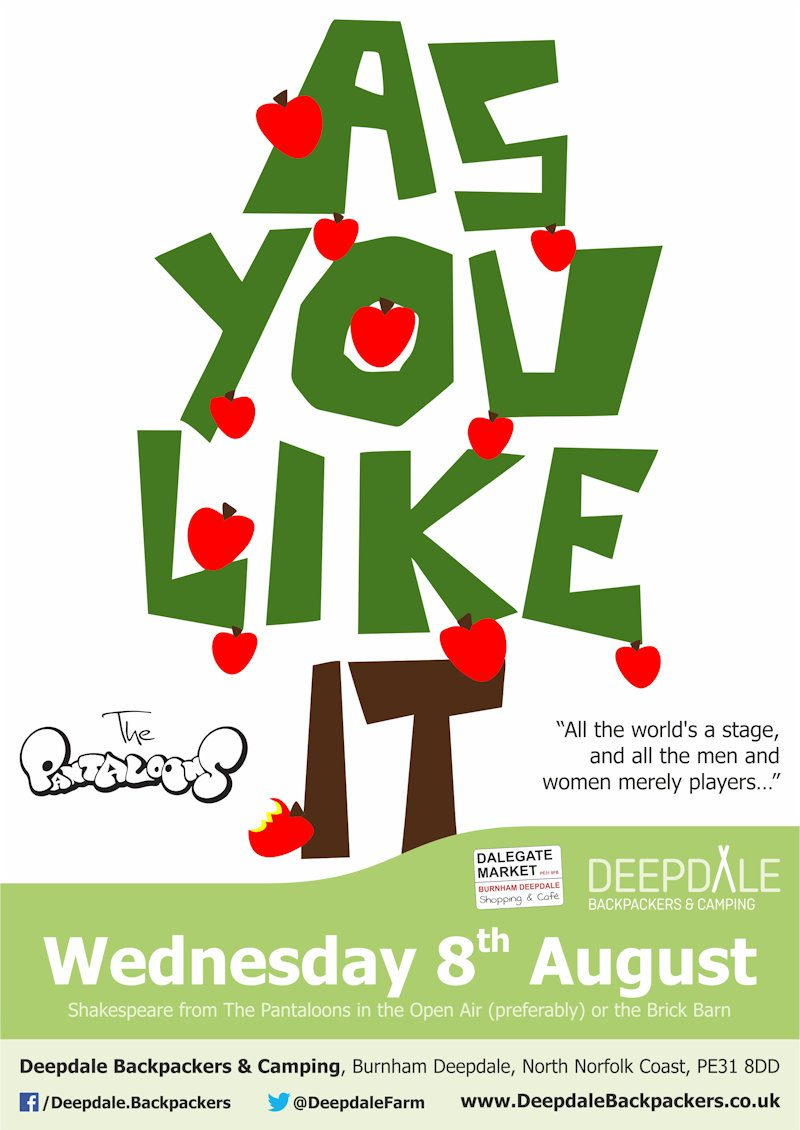 As You Like It - Outdoor Theatre | 8 August 2018