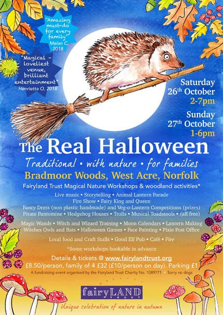 The Real Halloween | The Real Halloween brings you a bumper collection of ways for children to connect with nature in the Autumn at this non-scary, family event. - Dalegate Market | Shopping & Café, Burnham Deepdale, North Norfolk Coast, England, UK