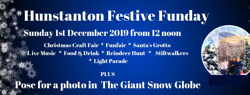 Hunstanton Festive Funday | A fun-filled family day with food and drink stalls, Giant Walk-In Snow Globe, Stiltwalkers, face painting, fairground rides and more! - Dalegate Market | Shopping & Café, Burnham Deepdale, North Norfolk Coast, England, UK