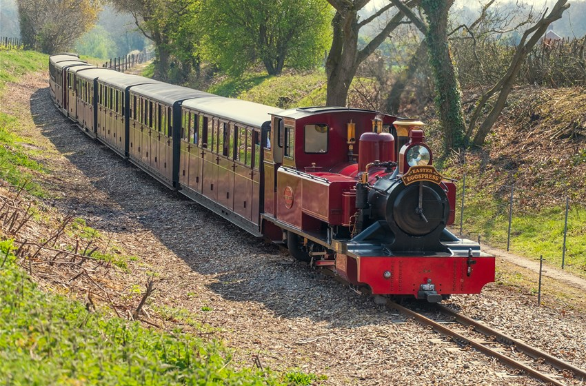 "Bure Valley Railway Easter Eggspress | Hop on board the Easter Eggspress over the Easter school holidays, for an ""eggciting"" day out for all the family. - Dalegate Market 
