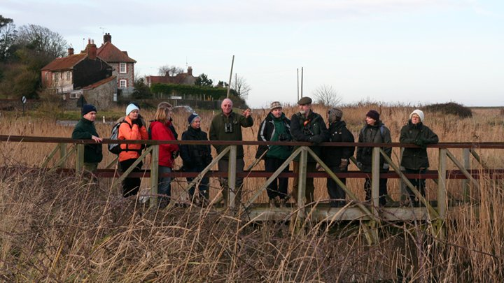 Walk with the Warden: Cley, Norfolk Wildlife Trust Cley Marshes, Coast Road, Cley, Norfolk, NR25 7SA | Bernard Bishop has been the warden for more than forty years and is the third generation of his family to work at Cley Marshes | guided walk, family friendly, nature, birds