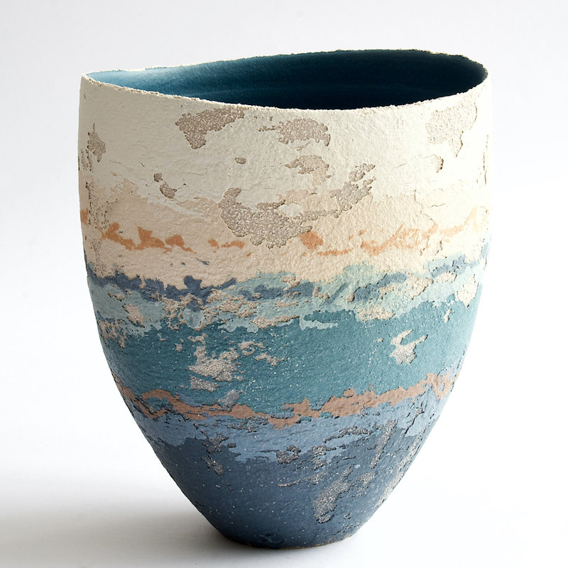 Art Exhibition - Fiona Millais & Clare Conrad | Landscape paintings by Fiona Millais together with textural ceramics by Clare Conrad | 14 Market Place, Holt, Norfolk, NR25 6BW
