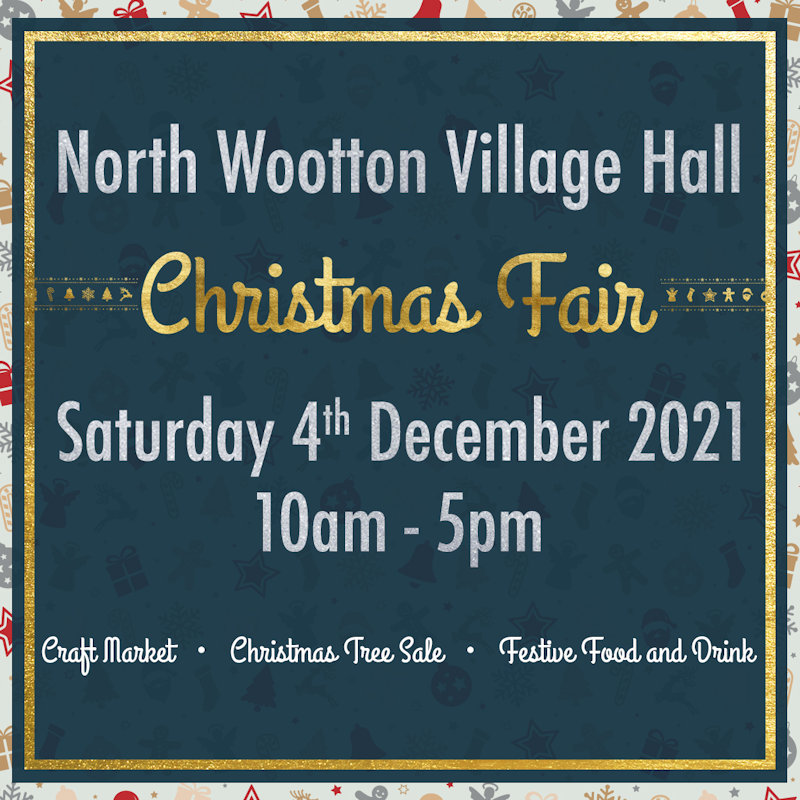 Christmas Fair & Christmas Tree Sale | Christmas craft market, a freshly-cut Christmas tree sale, festive food and drink, and more. | North Wootton Village Hall, Priory Lane, North Wootton, Norfolk, PE30 3PT