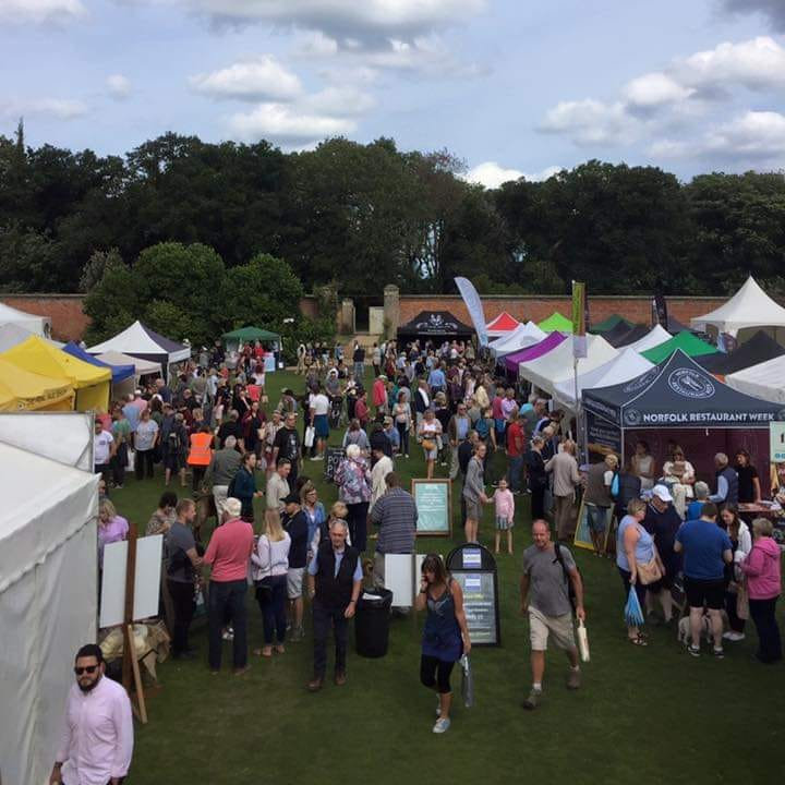 North Norfolk Food & Drink Festival 2021 | Around 65 local producers selling everything from gin to chocolate, bread to cheese, and chutney to brownies. An ever-growing team of local food & drink producers who grow, rear, produce, supply & sell food in North Norfolk. | The Walled Gardens, Holkham Estate, Wells-next-the-Sea, North Norfolk Coast