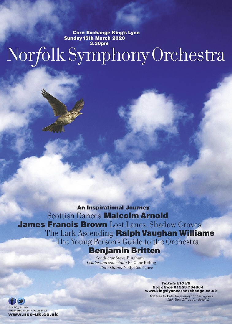 Norfolk Symphony Orchestra Concert | Join us on an atmospheric journey across the British Isles and through every section of our orchestra. - Dalegate Market | Shopping & Café, Burnham Deepdale, North Norfolk Coast, England, UK