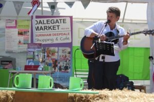 Marina Florance performing at the Mini Deepdale stand, Royal Norfolk Show