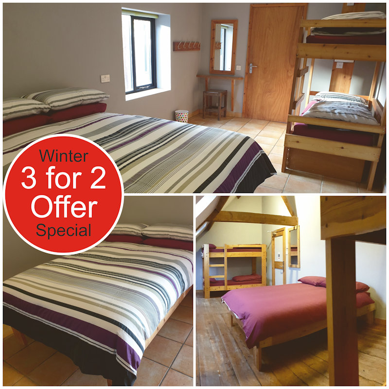 Midweek 3 for 2 Special Offer | Come and enjoy a great value stay on the North Norfolk Coast, explore this beautiful part of the world, enjoy the huge skies, and brighten up your start to the new year. #3for2 #SpecialOffer #Offer #NorthNorfolk - Dalegate Market | Shopping & Café, Burnham Deepdale, North Norfolk Coast, England, UK