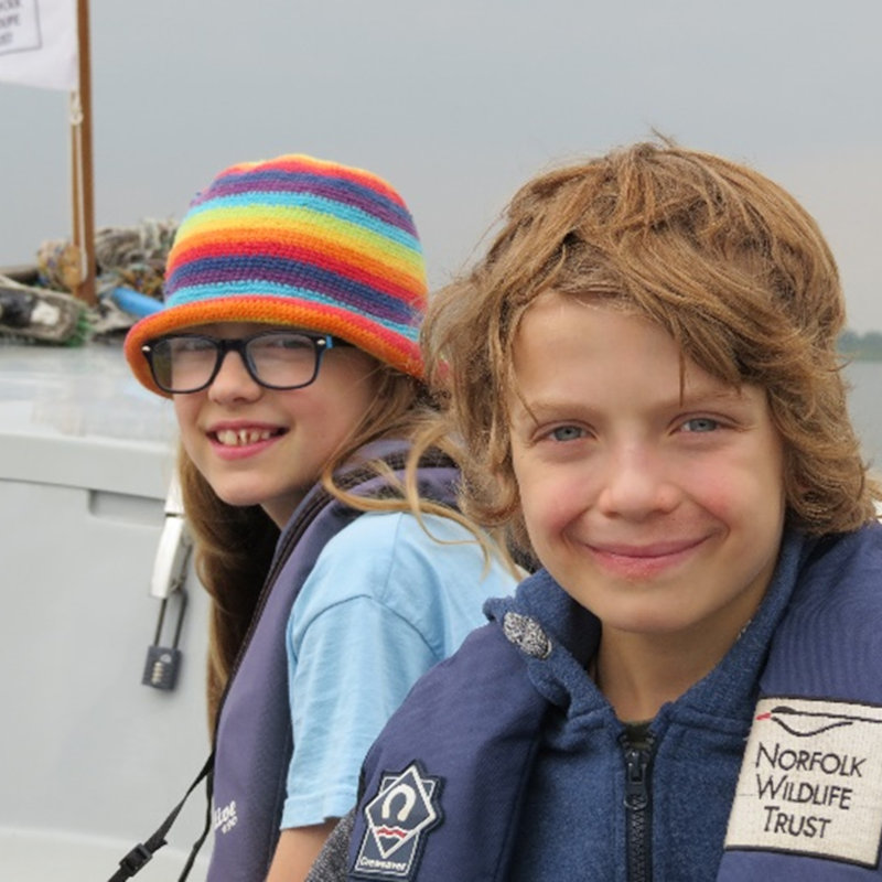 NWT Children's Wildlife Watch - Broads Boats, NWT Hickling BroadStubb RoadHicklingNR12 0BW | Family event | Boat trip, nature, wildlife, Norfolk Broads