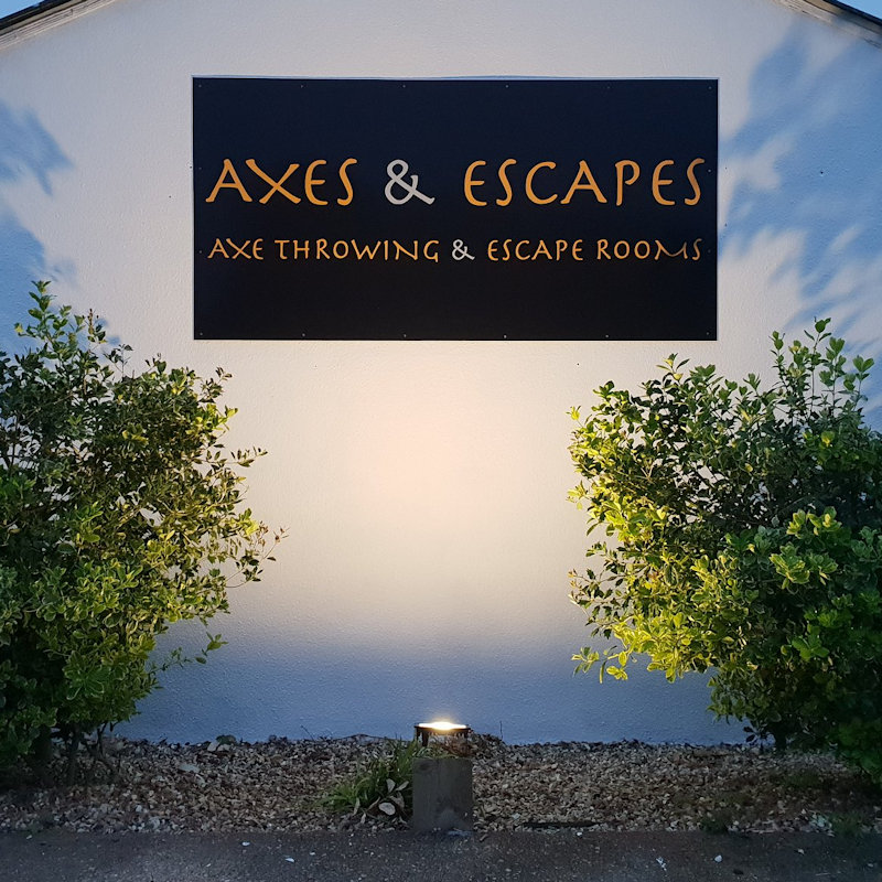 Axes & Escapes - An Axe throwing venue in the heart of Norfolk and an established Escape room outlet. Learn how to throw our tomahawks at giant log targets or escape our uniquely designed themed rooms. - North Norfolk Coast Hygge Fair - Friday 29th to Sunday 31st March 2019