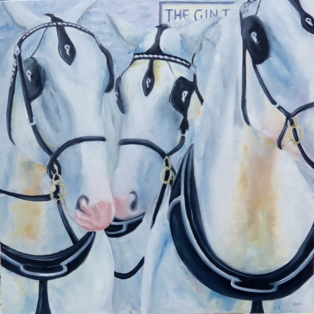 Barbara King Art Exhibition, Ringstead Village Hall, High Street, RIngstead, Norfolk, PE36 5JU | Annual solo exhibition of paintings by Barbara King  | Horses, paintings, art, boats, sea, countryside, seaside, norfolk, cows, exhibition,