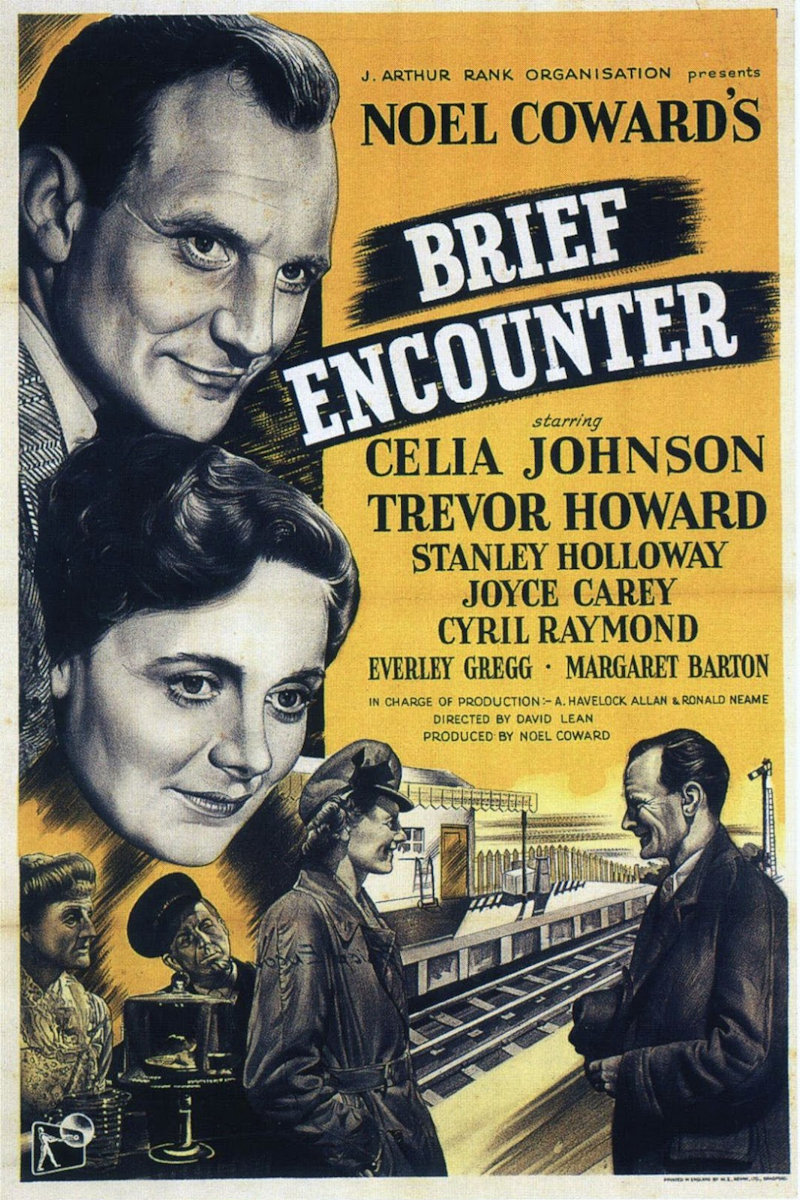 1st Feature of Friday Film Night, Brief Encounter - Deepdale 1940s Weekend | 11th to 13th May 2018 | Deepdale's celebration of VE Day with a step back in time to the stylish 1940s
