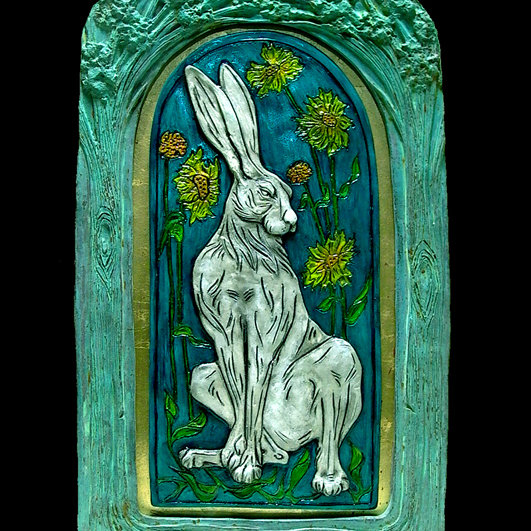 Christine Pike Fine Art - Figurative and wildlife sculptures inspired by myth and folklore. In fired ceramic and hand cast art resin. Suitable for the home and garden. - Deepdale Festival | 26th to 29th September 2019 | Deepdale Backpackers & Camping, Deepdale Farm, Burnham Deepdale, North Norfolk Coast