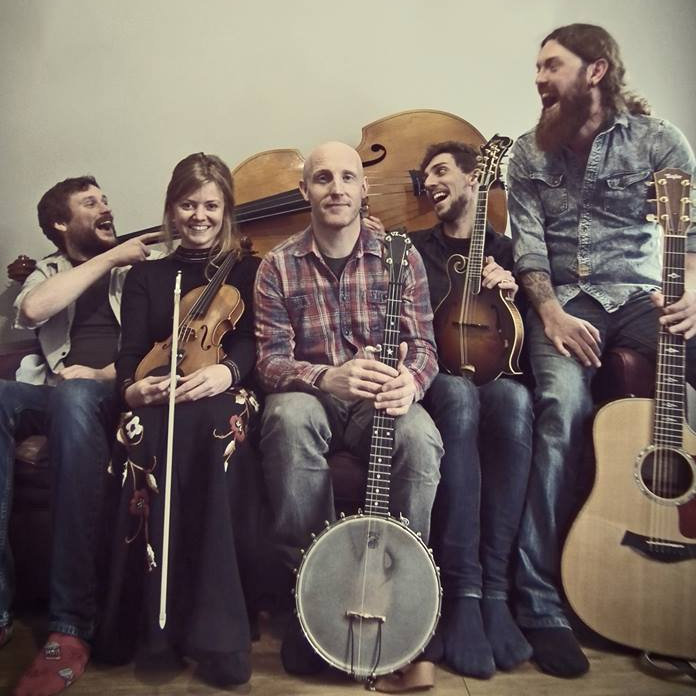 Cobbler Bob String Band - Friday - Deepdale Festival | 26th to 29th September 2019 - Cobbler Bob feature some of the finest acoustic musicians on the local scene coming together to play vibrantly rootsy Americana and bluegrass. With acoustic guitar, banjo, fiddle, mandolin and double bass, the group might have a quintessentially traditional instrumental line-up, but are equally as happy riffing on Led Zep, The Beatles and Prince. With the simply outstanding musicians of the acclaimed Shackleton Trio, together with Joe Hartley on double bass and Adam Clark on banjo, this a musical experience you won't want to miss.
