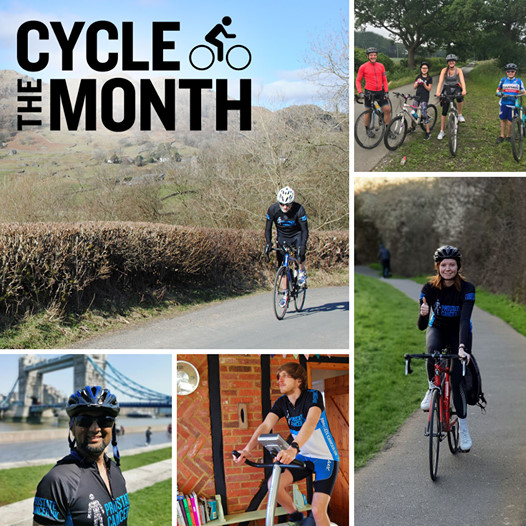 Cycle The Month - 100 Miles Your Way | Cycle the Month is a virtual challenge for cyclists everywhere. Cycle 100 miles your way, over a day, a weekend, a week or a month and help beat the most commonly diagnosed cancer in the UK.  | Wherever you enjoy cycling