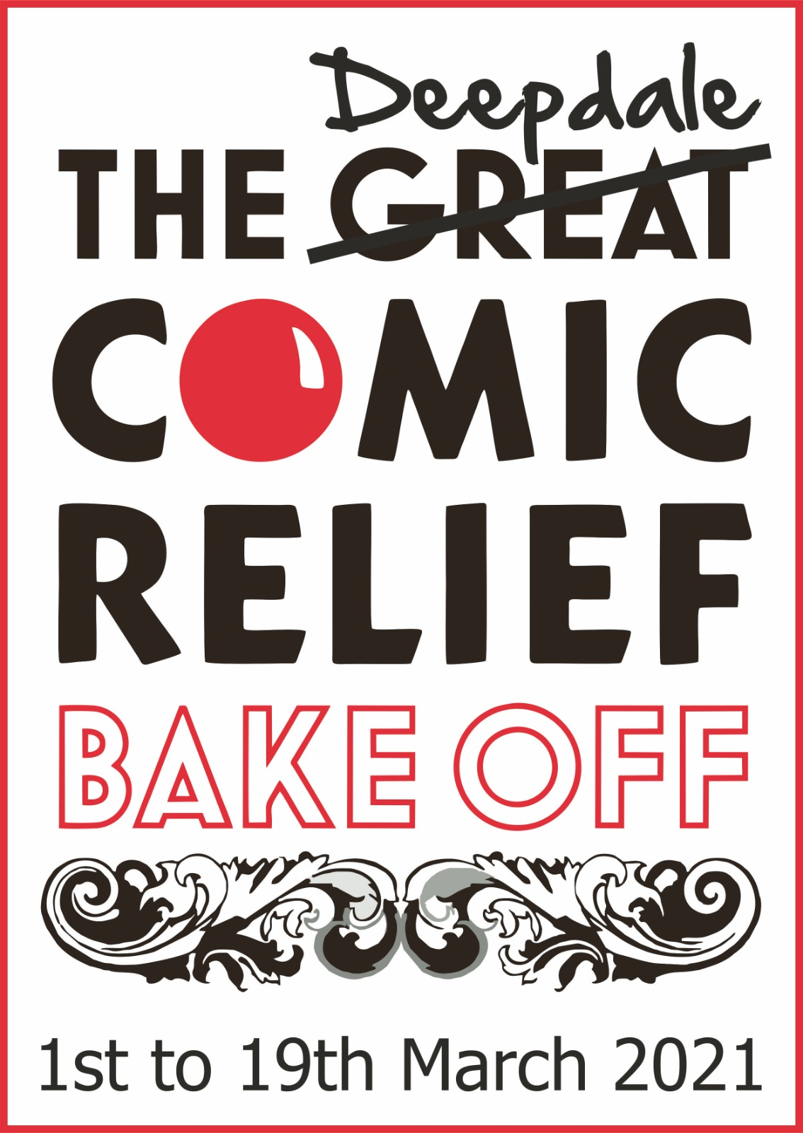 The Deepdale Comic Relief Bake Off, In the kitchen, in the garden, wherever you like to do your baking | Jason has thrown down the baking challenge gauntlet to all the Deepdale Crew with the Deepdale Comic Relief Bake Off! | red, nose, day, comic, relief, british, bakeoff, baking, bake, deepdale, charity, donation, donate