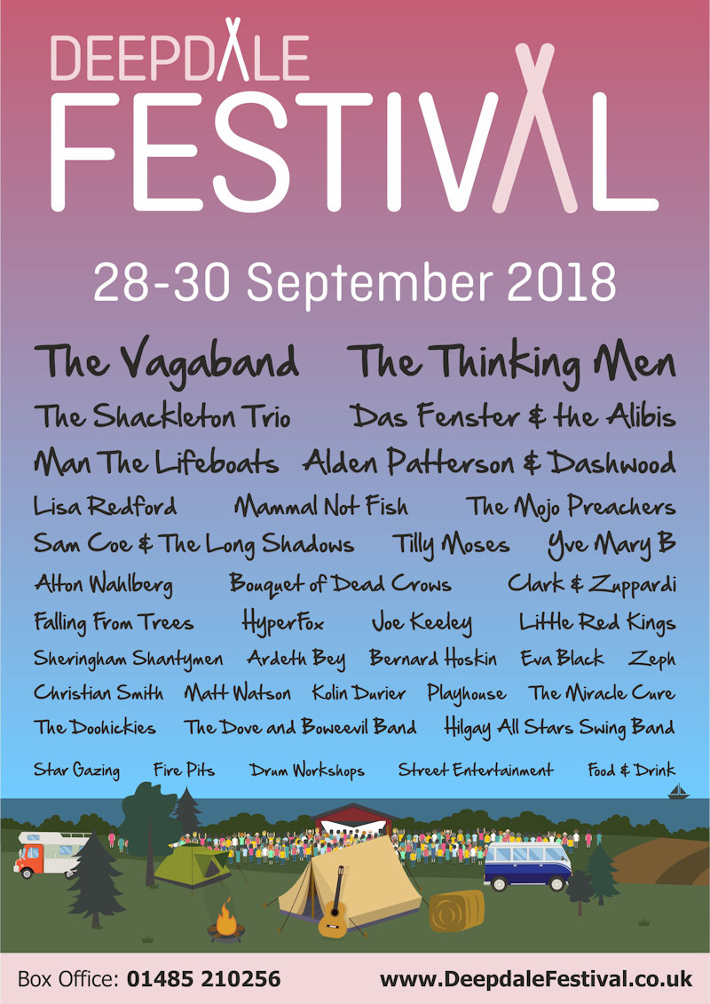 Deepdale Festival 2018, Deepdale Backpackers & Camping, Deepdale Farm, Burnham Deepdale, North Norfolk Coast, PE31 8DD | After the success of the 2017 Deepdale Festival, we'll host our second annual music festival at Deepdale Backpackers & Camping over the last weekend of September 2018. | deepdale, hygge, festival, music, live, danish, happiness, celebration, north norfolk coast, activities, good, feelings, roaring, fire, foraging, walking, cycling, running, wildlife, nature