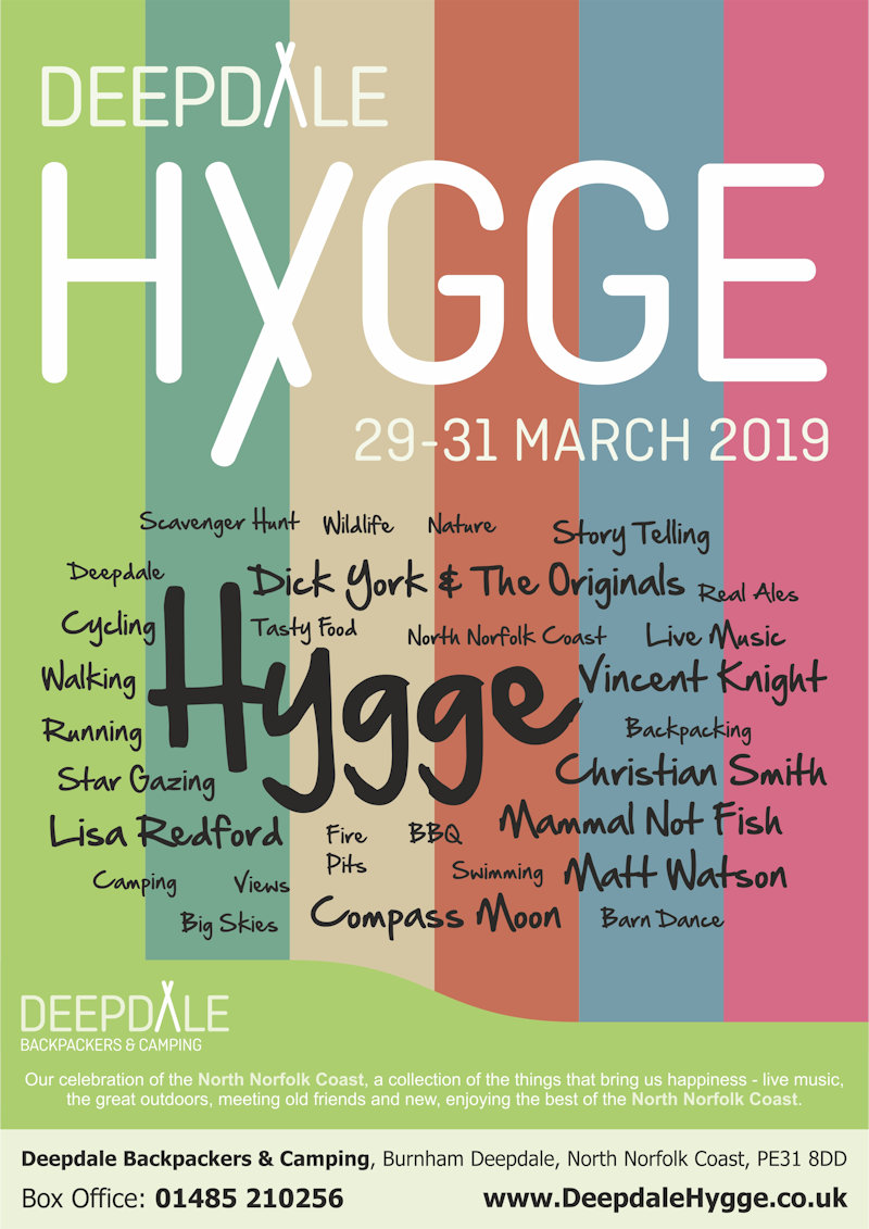 Deepdale Hygge 2019 | The Deepdale Hygge is our celebration of the North Norfolk Coast, a collection of the things that bring us happiness - live music, the great outdoors, meeting old friends and new, enjoying the best of the North Norfolk Coast. - Dalegate Market | Shopping & Café, Burnham Deepdale, North Norfolk Coast, England, UK