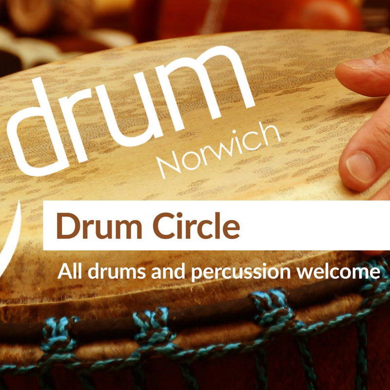 Drum Workshops with Drum Norwich - Deepdale Festival | 28th to 30th September 2018