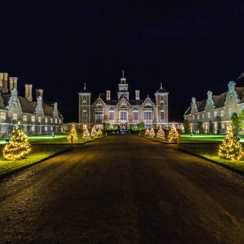 Christmas Garden of Lights, Blickling Estate, Aylsham, Norfolk, NR11 6NF | Start your visit with the tree-lined driveway, lit up with Christmas lights, before stepping inside to explore the house to explore 400 years of Blickling history as you wander through rooms full of festive splendour ... | christmas, garden, lights, blickling, aylsham, north, norfolk