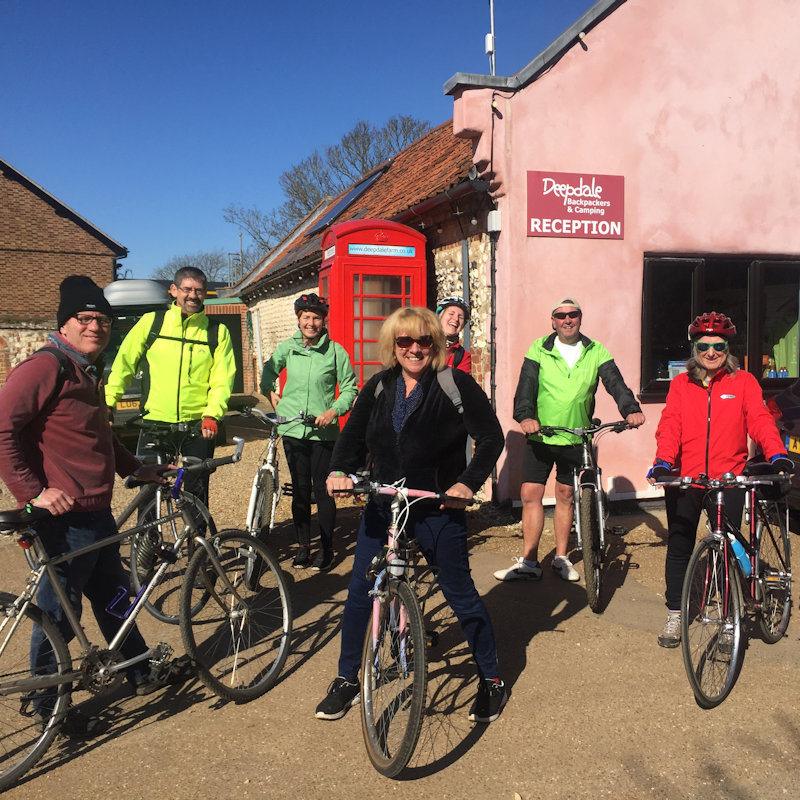 Guided Cycle Ride - Deepdale Hygge | 27th to 29th March 2020 | Our celebration of the North Norfolk Coast, a collection of the things that bring us happiness - live music, the great outdoors, meeting old friends and new, enjoying the best of the North Norfolk Coast