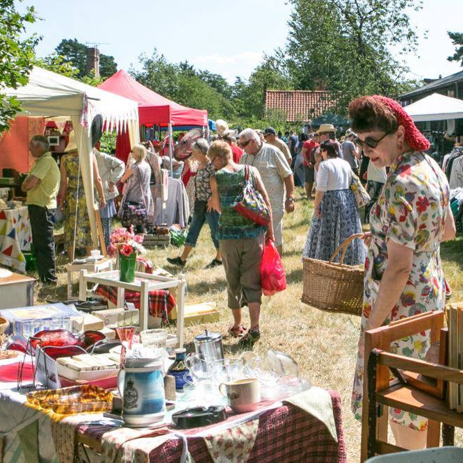 Little Vintage Lover Fair | Curated vintage fair for true vintage lovers ... Expect to find an array of quality vintage including fashion, textiles, accessories, jewellery, homewares, small furniture, vintage re- made items and lots more ca 1920�s-1980�s. | Heydon, North Norfolk, NR11