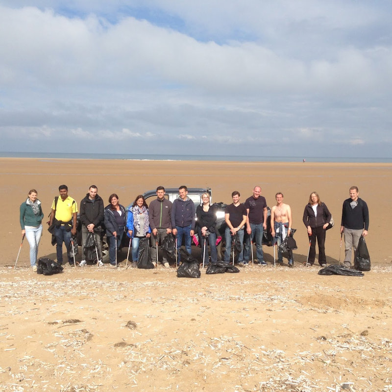 Holkham Beach Clean, Holkham Hall, Wells next the Sea, Norfolk, North Norfolk | Help us keep the beach a special place, free of plastic. | beach, beach clean, nature reserve, help, volunteer