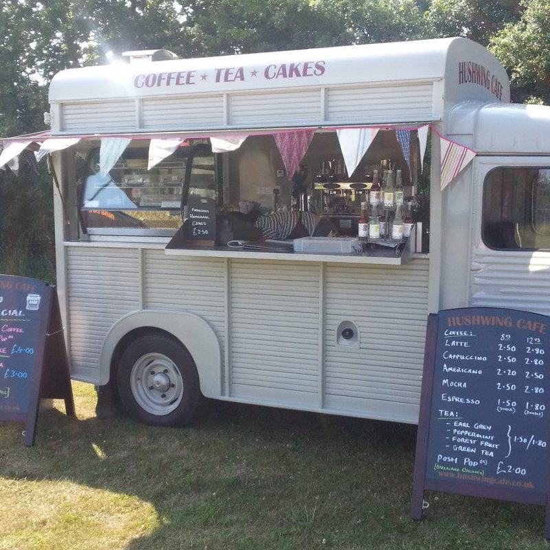 Hushwing Cafe - Locally Roasted Coffee from Strangers in Norwich, Tea's from Nelson and Norfolk Tea Co, homemade cakes, and of course our wonderful Hot Chocolate. All with a  lovely vintage twist from our Citroen Van called Betsey. - Deepdale Spring Market - Spring shopping from Norfolk artisans and producers, 50+ stalls in a large marquee and the Dalegate Market shops & café - Another great reason to visit the beautiful North Norfolk Coast, England, UK - Friday 24th to Sunday 26th March 2017