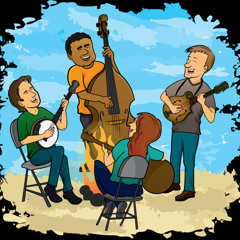 Jam Session Gathering - Friday - Deepdale Festival | 26th to 29th September 2019 - Join fellow jamming enthusiasts with your accoustic instruments or voices, and see where the music takes you.