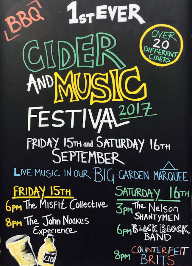 Jolly Cider & Music Festival, The Jolly Sailors, Brancaster Staithe, North Norfolk Coast | Join locals and visitors for a great weekend of live music, 20+ local ciders & BBQ | cider, live, music, jolly, sailors, north, norfolk, coast