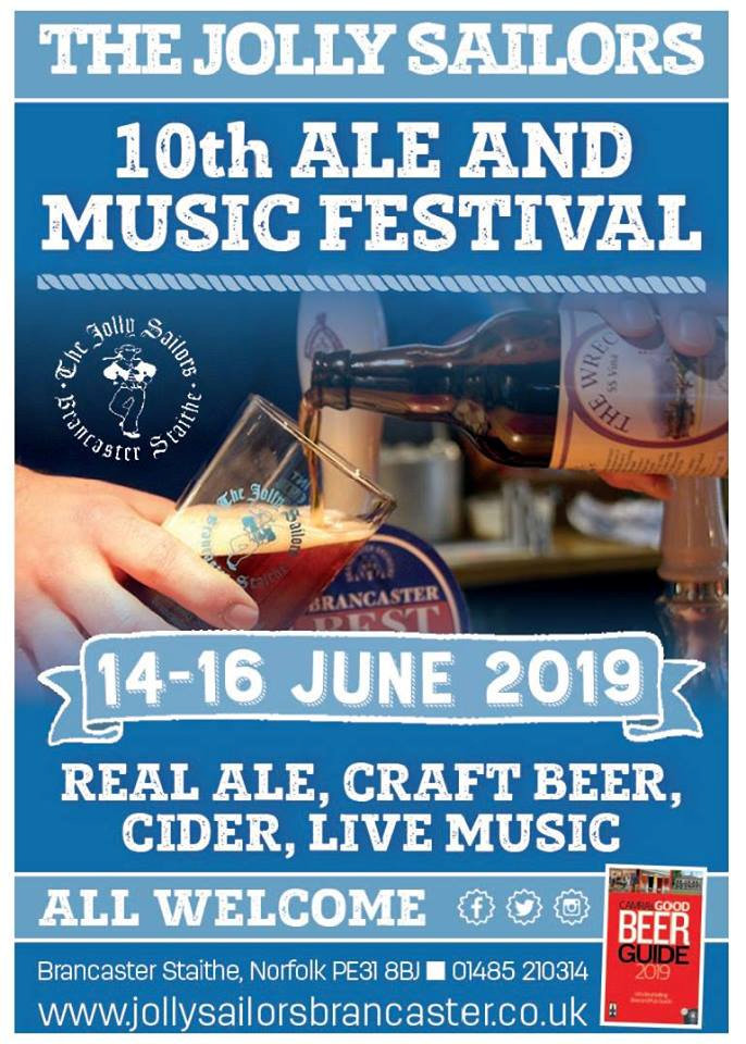 Norfolk Ale & Music Festival | Eat, Drink & Be Jolly - An excellent weekend at The Jolly Sailors on the north Norfolk coast - real ale festival, live music, fun & games - Dalegate Market | Shopping & Café, Burnham Deepdale, North Norfolk Coast, England, UK