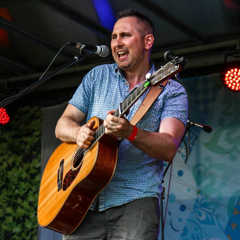 Kolin Durier - Sunday - Deepdale Festival | 27th to 29th September 2019 - Kolin Durier is guitarist singer songwriter who writes from the heart with catchy upbeat grooves. Live, he uses  acoustic guitar and loop drum sounds, basslines and funky melodies into his songwriting.