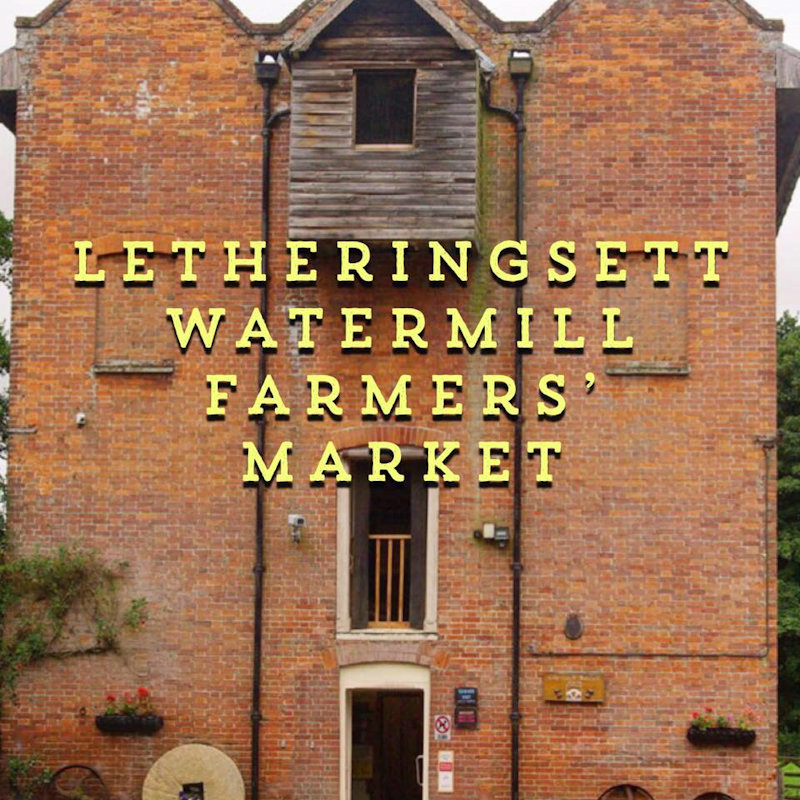 Letheringsett Farmers Market, Letheringsett Watermill, Letheringsett,Holt,Norfolk | Farmers market selling artisan local produce from over 30 stalls  | Farmers market, artisan food and drink, local produce , historic England,  countryside,