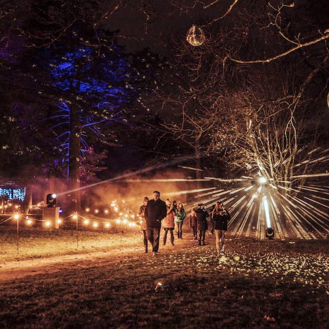 Luminate Sandringham, Sandringham Estate, West Norfolk | Nestled deep within Her Majesty's private Estate, awaits a spectacular, illuminated trail, full of wonder and intrigue, to delight and enthral your senses. | sandringham, christmas, luminate, west, norfolk, night, walk