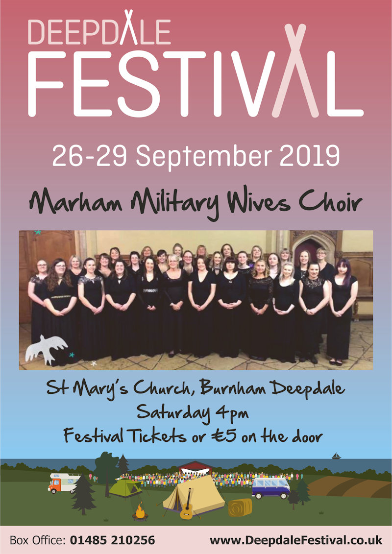 Marham Military Wives Choir, St Mary's Church, Burnham Deepdale, North Norfolk Coast | Marham Military Wives Choir join us for a very special concert in St Mary's Church, Burnham Deepdale as part of Deepdale Festival 2019. | marham, military, wives, choir, bluebirds, st, mary, burnham, deepdale, north norfolk, foundation