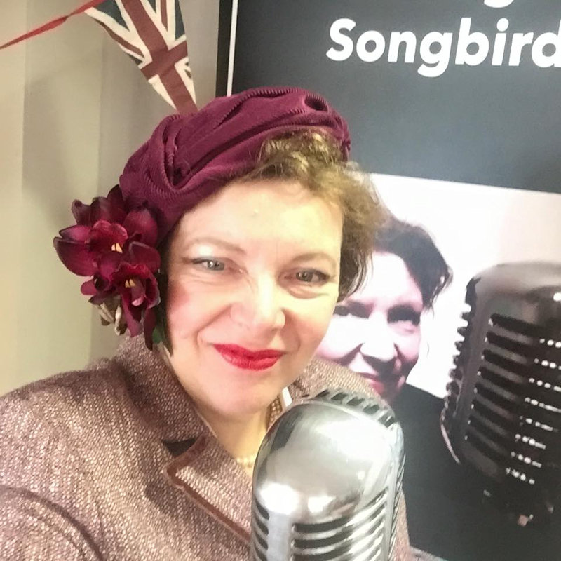 May Blosson, Vintage Songbird - Deepdale 1940s Weekend | 11th to 13th May 2018 | Deepdale's celebration of VE Day with a step back in time to the stylish 1940s