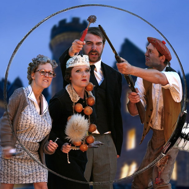 Murder on the Terrace, Thornham Village Hall Grounds, Main Road, Thornham, Norfolk PE36 6LX | Performed by Heartbreak Productions (outdoor theatre) | outdoor theatre