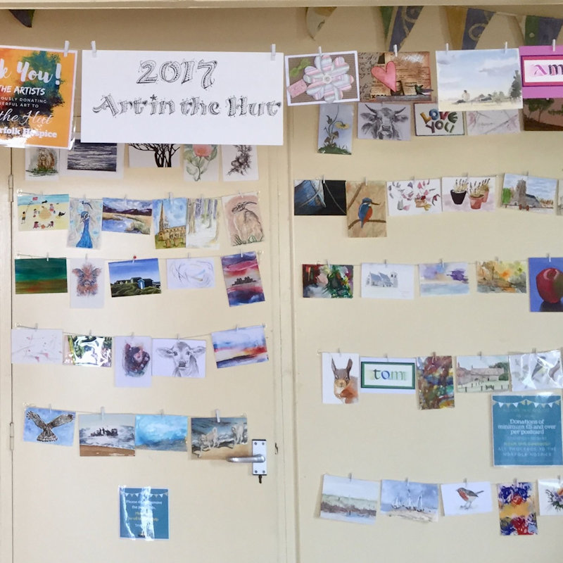 Art in the Hut, The Mencap Beach Hut , Old Hunstanton Beach, Norfolk Coast, PE36 6JN  | Norfolk Hospice Fund raising event in Old Hunstanton | Norfolk Hospice, Art, Postcards, Hunstanton, Beach hut