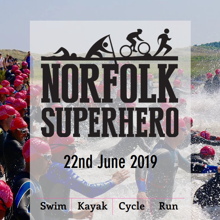 Norfolk Superheros 2019, Burnham Overy Staithe, North Norfolk Coast | The Norfolk Superhero is a quadrathlon event held annually in June when the tides are right, at Burnham Overy Staithe on the beautiful North Norfolk coast. | norfolk, superhero, coast, swim, cycle, run, kayak