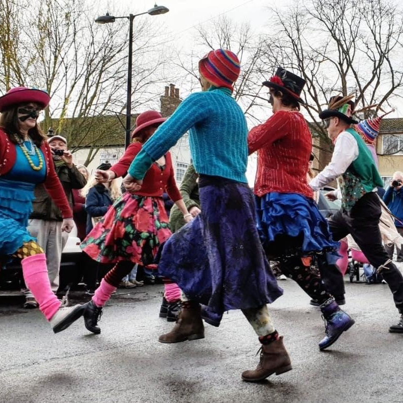 Ouse Washes Molly Dancers - Saturday - Deepdale Festival | 23rd to 26th September 2021 -