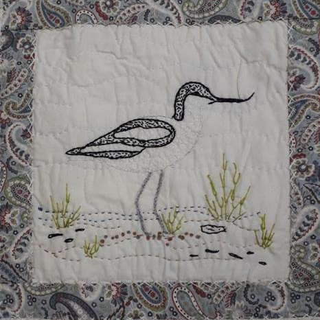 Quilt on the Wild Side, NWT Cley Marshes NR25 7SA | Join the ever popular Sally Holman for another fantastic workshop. Make a small quilt/wall-hanging inspired by the wildlife of Cley.  | workshop, quilting