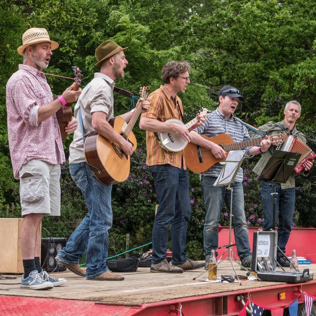 Rattlebox - Sunday - Deepdale Festival | 26th to 29th September 2019 - A raucous, rabble rousing folk band from right here in North Norfolk. Multi-instrumentalists all, expect a brightening up of your day and a chance to enjoy a beer and a dance.