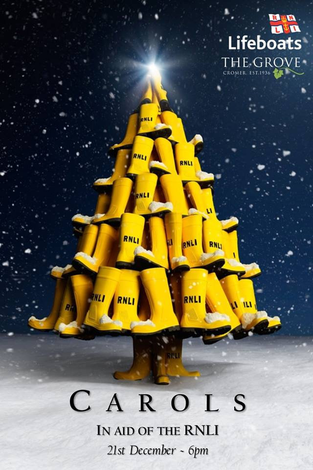 Carols in aid of the RNLI | Join the RNLI for an evening of carols with the crew and fellow supporters - Dalegate Market | Shopping & Café, Burnham Deepdale, North Norfolk Coast, England, UK