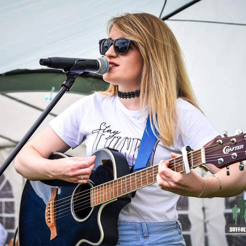 Serena Grant - Sunday - Deepdale Festival | 26th to 29th September 2019 - Recreating a session of his incredible showcases for unsigned local musicians, Alton Wahlberg has curated the morning on the Orchard Stage with (at time of writing) Joe Keeley, Laura Wyatt, Serena Grant and Dusky Sunday performing.