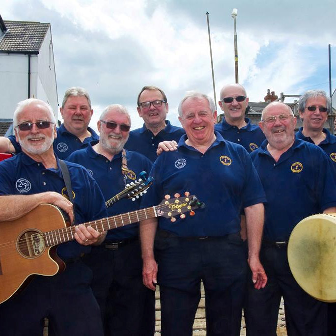 The Sheringham Shantymen - Saturday - Deepdale Festival | 27th to 29th September 2019 - The Shantymen may be local, but they travel all over the world, so we are immensely pleased to welcome them back to Deepdale with their rousing, passionate sound of the sea.  They will be one of the first acts to perform in St Mary's Church, our newest venue.